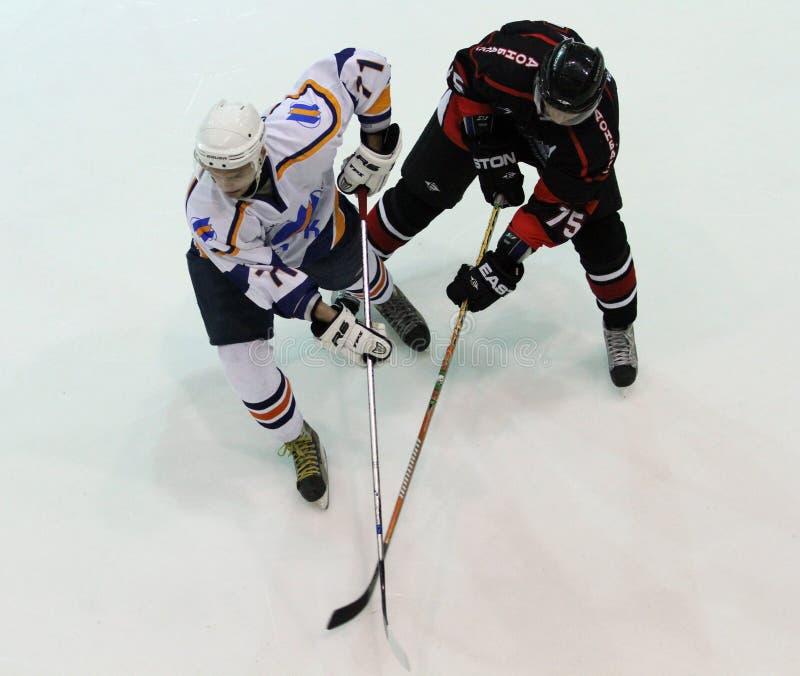 спичка kharkov льда хоккея donbass стоковые изображения rf