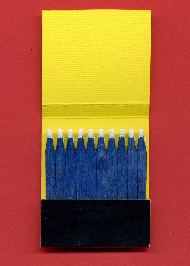 спички книги стоковое изображение