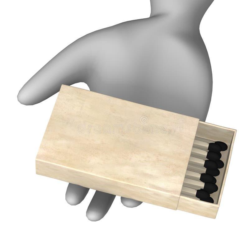 спички иллюстрация вектора