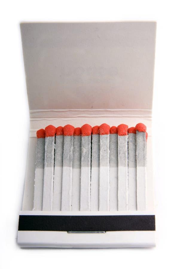 спички matchbox стоковое изображение rf