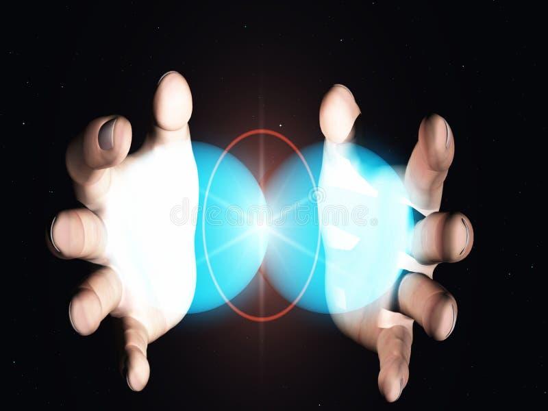 сплавливание ядерное иллюстрация штока