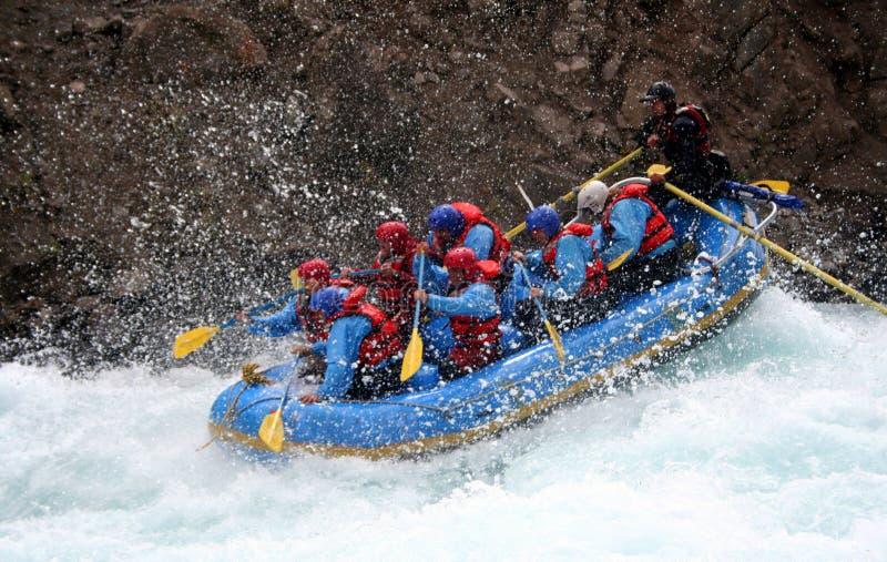 сплавлять реку стоковая фотография rf