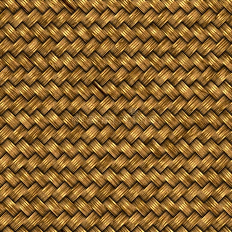 сплетенное золото иллюстрация вектора