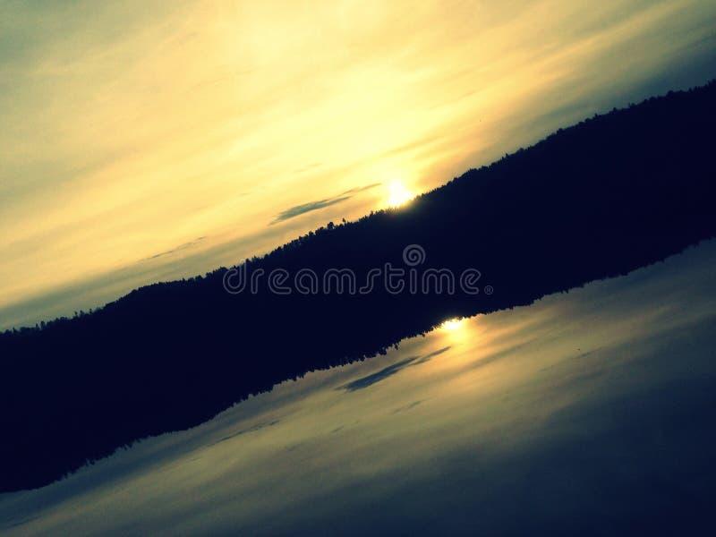 Спокойная Норвегия стоковое изображение