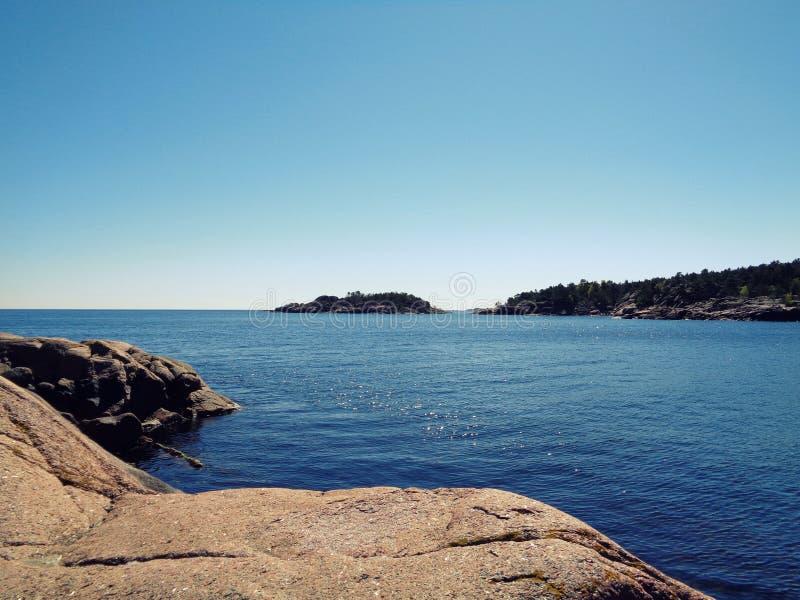 Спокойная Норвегия стоковые фотографии rf