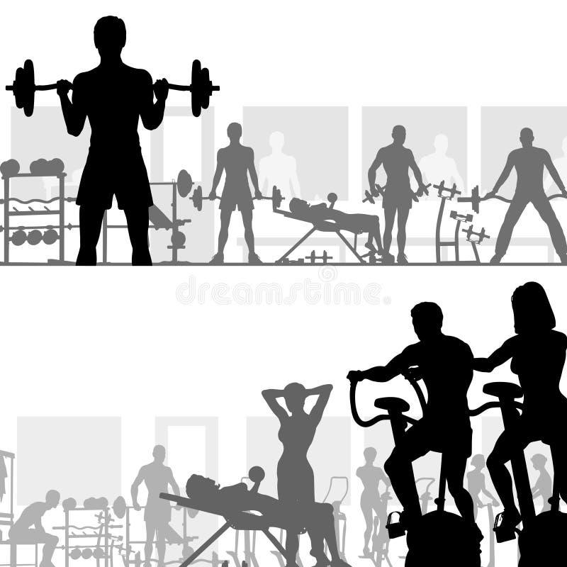 спортзал бесплатная иллюстрация
