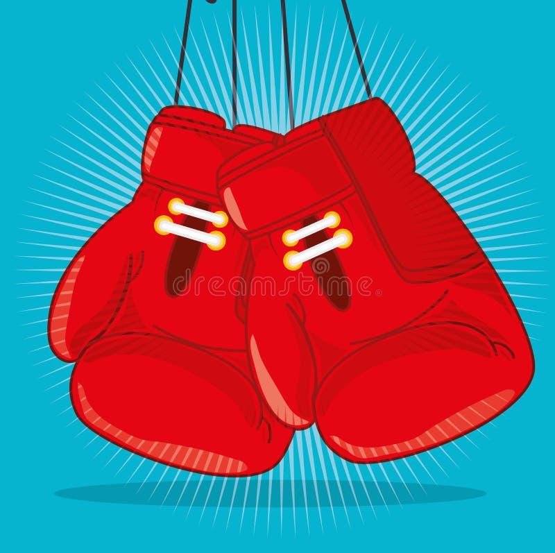 Спортзал и графический дизайн образа жизни фитнеса иллюстрация штока