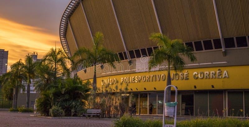 Спортзал мульти-спорта стоковое фото rf