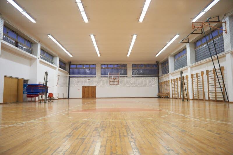 Спортзал школы стоковые фото