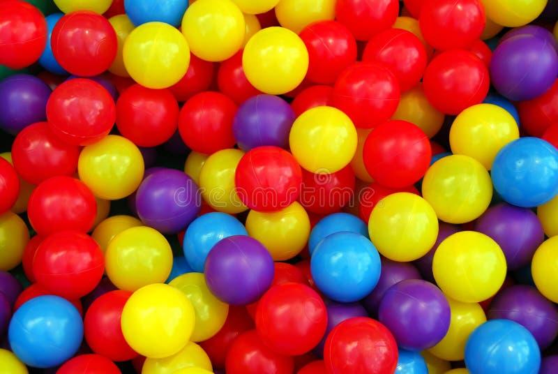 спортивная площадка шариков стоковое фото rf