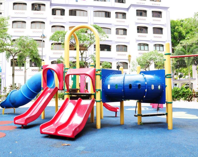 спортивная площадка s детей стоковые фотографии rf