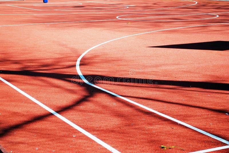 Спортивная площадка школы стоковое изображение