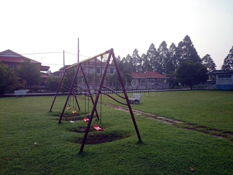 Спортивная площадка стоковое фото rf
