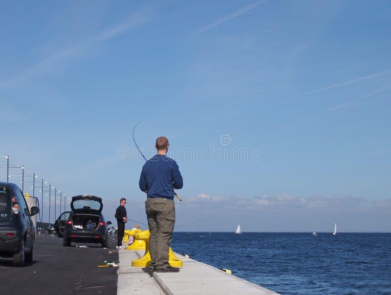 Спортивная рыбалка стоковая фотография rf