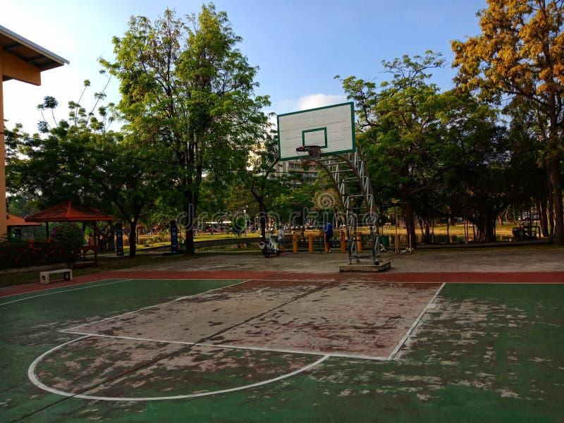 Спортивный клуб баскетбола стоковые изображения rf