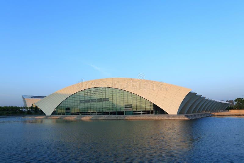 Спортивный центр Шанхая востоковедный стоковое фото rf