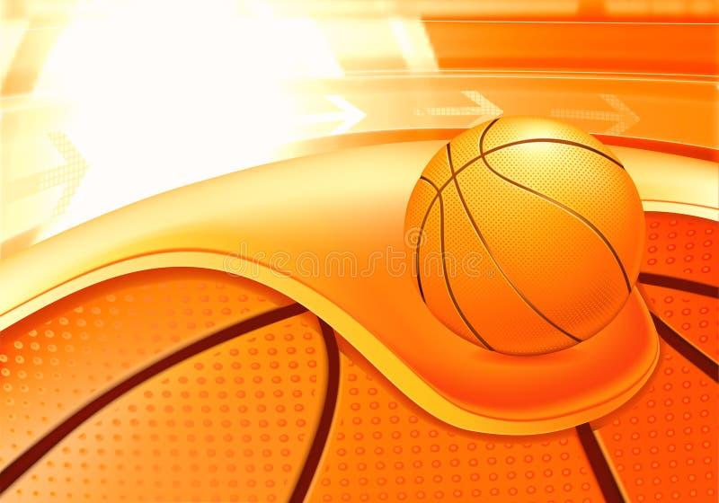 спорты баскетбола предпосылки иллюстрация штока
