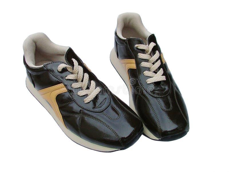спорты вскользь ботинок стоковые изображения