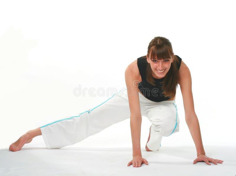 спорты девушки стоковая фотография