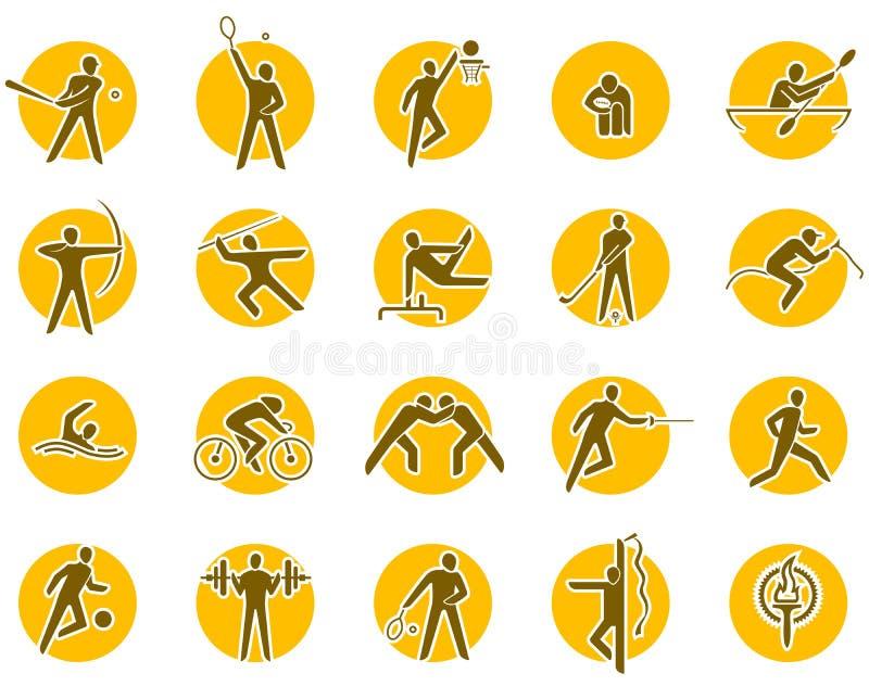 спорты иконы установленные