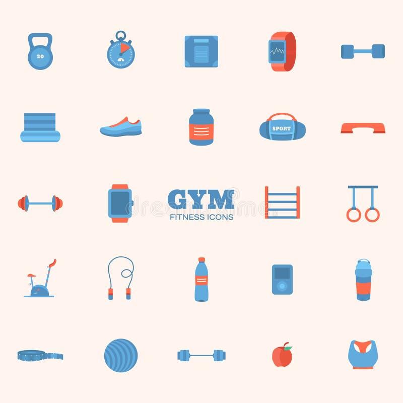 спорты установленные иконами бесплатная иллюстрация