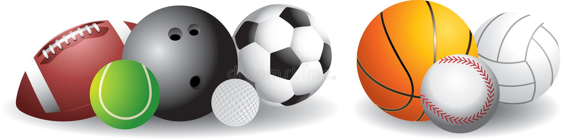 спорты шариков бесплатная иллюстрация