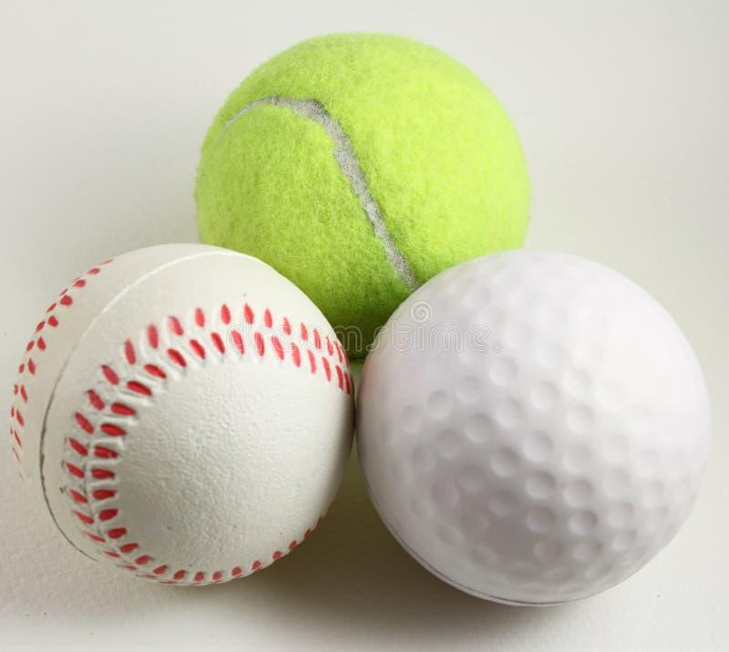 спорты 3 шариков стоковое фото rf