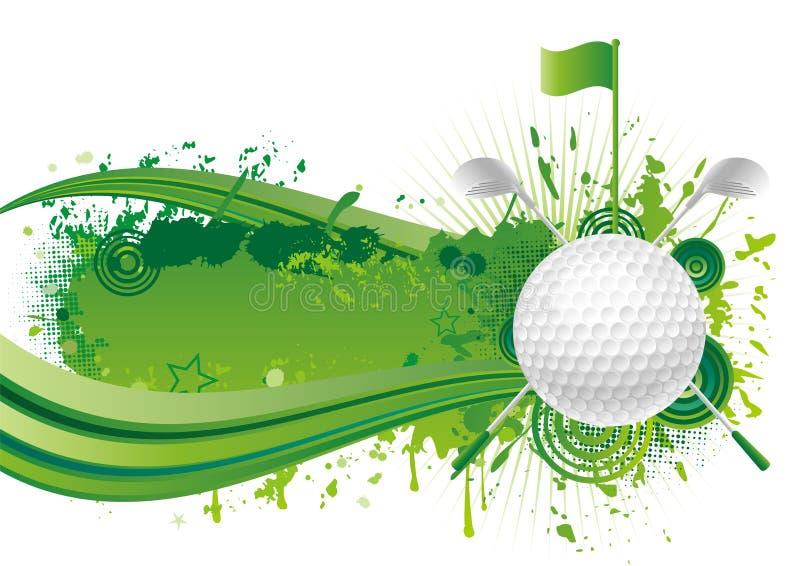 спорт гольфа иллюстрация штока