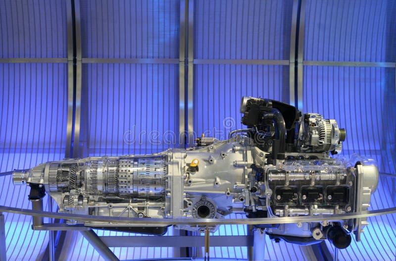 спорт двигателя автомобиля стоковое изображение