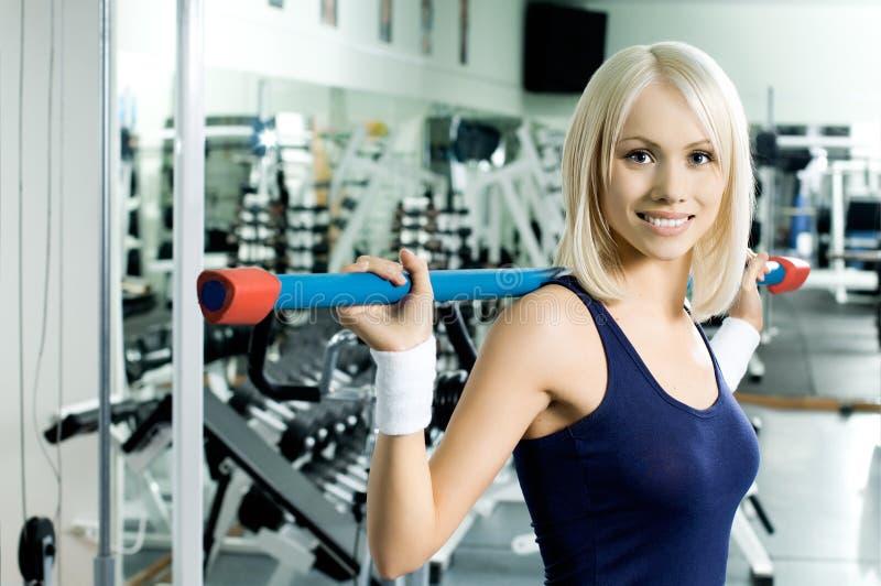 спорт девушки стоковые изображения rf