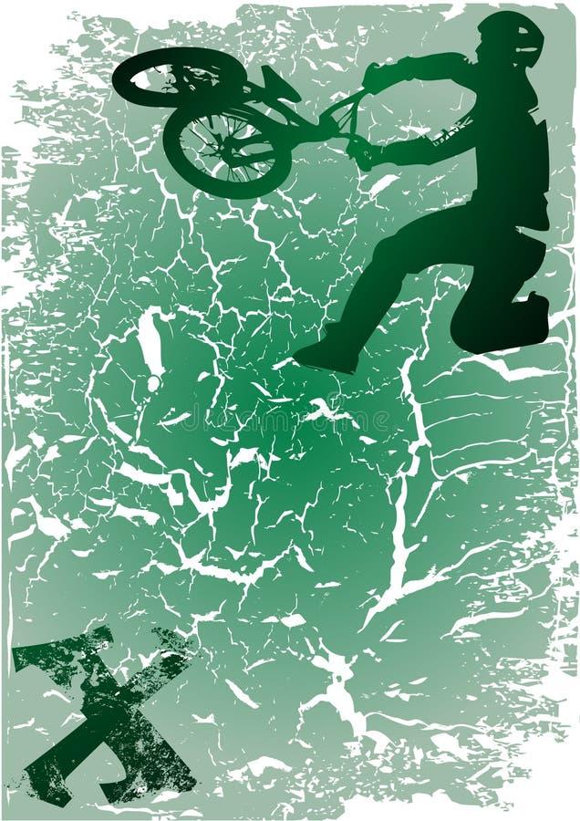 спорт крайности bmx бесплатная иллюстрация