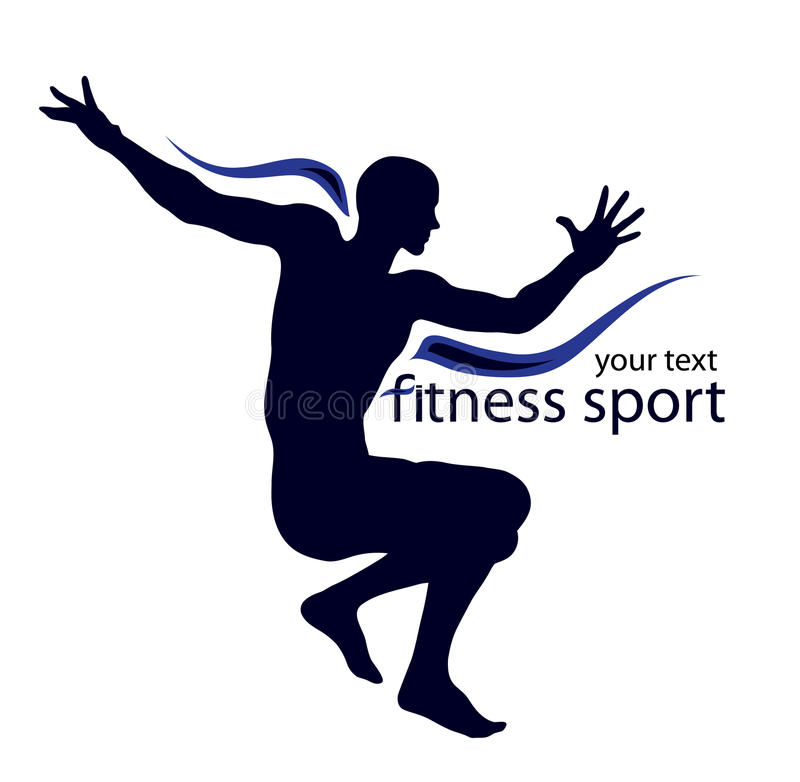 спорт логоса иллюстрация штока