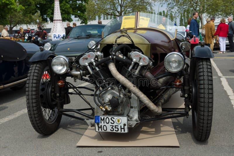 Спорт Моргана автомобиля супер, V-двойные 3-Уилеры стоковые изображения