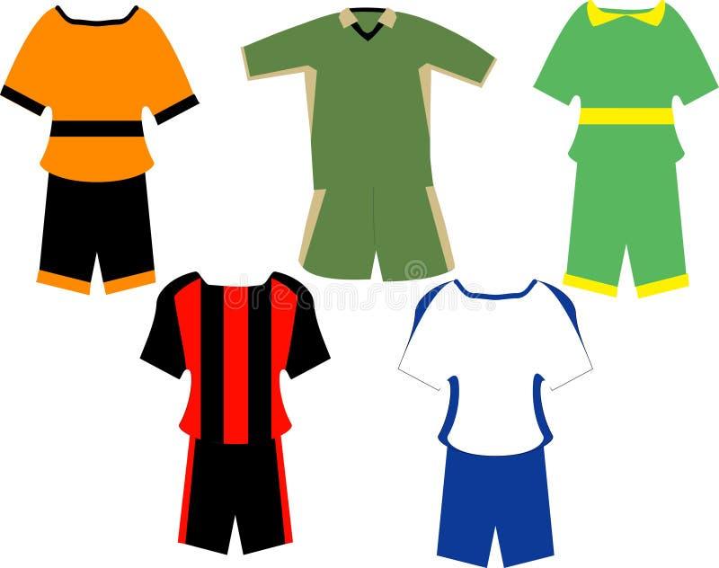 спорт одежд иллюстрация штока