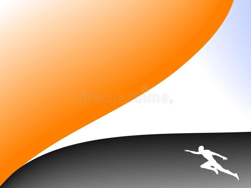 спорт предпосылки иллюстрация вектора