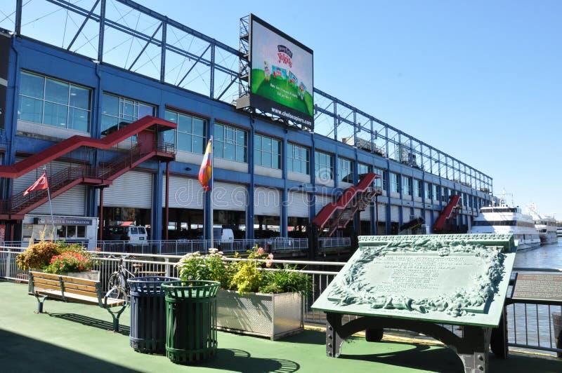Спорт пристаней Челси & комплекс развлечений в Манхаттане стоковая фотография
