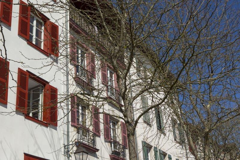 Справедливая ветчина Байонна Франция стоковое изображение