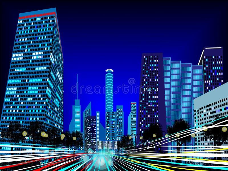 Справочная информация Город стоковое фото rf
