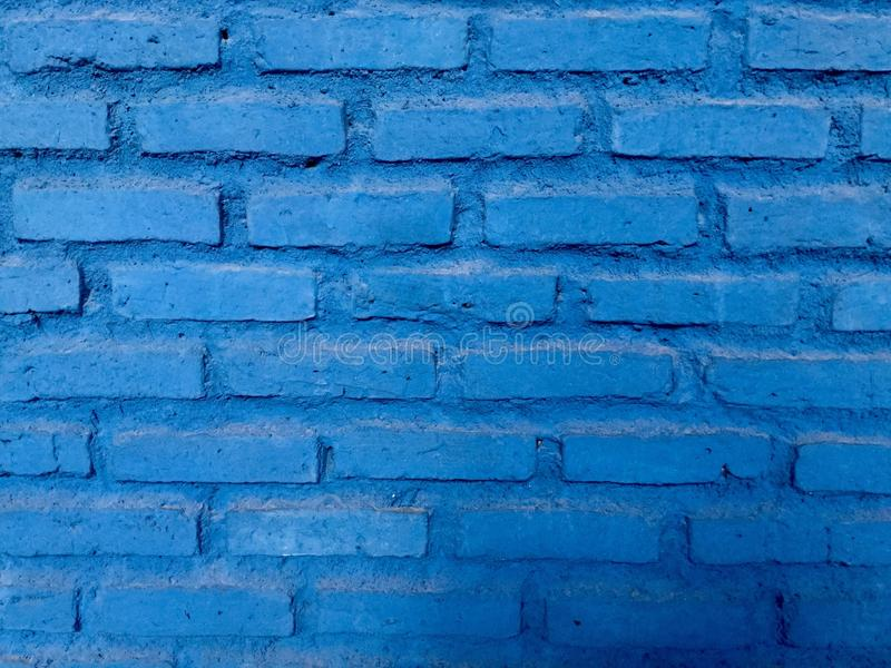 Справочная информация Кирпичная стена bluets стоковое фото