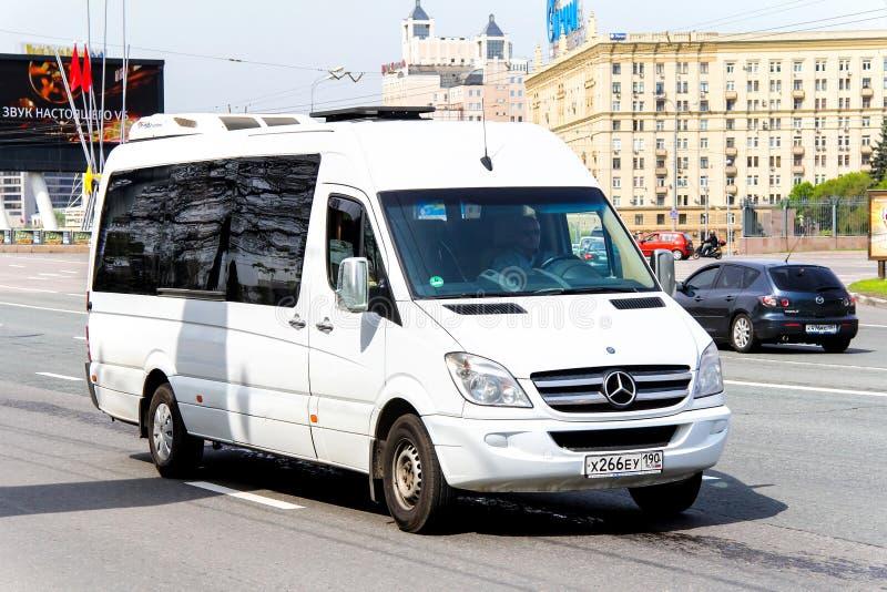 Спринтер Мерседес-Benz стоковое изображение rf