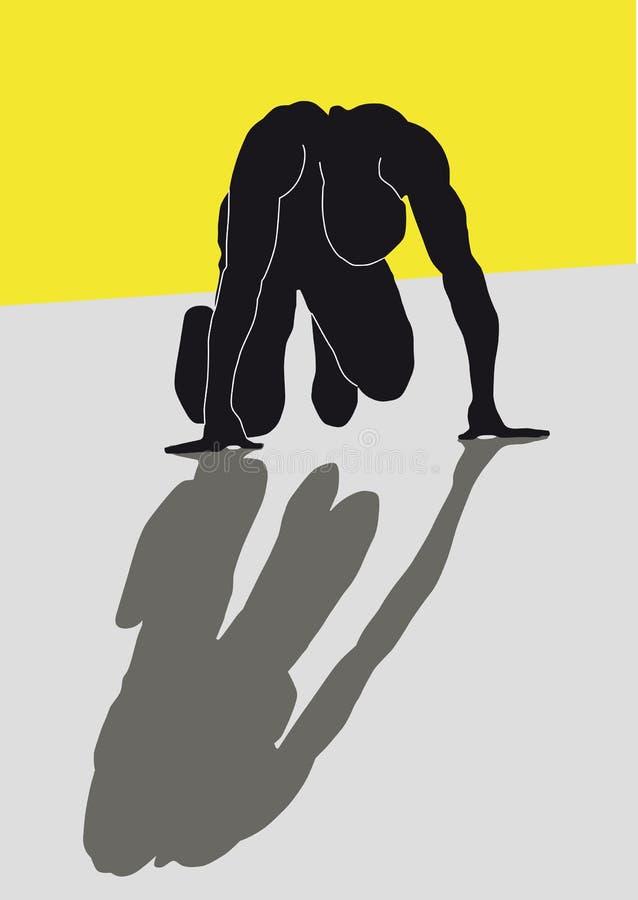 спринтер бесплатная иллюстрация