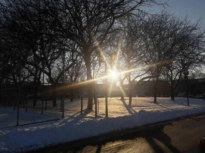Спрятанная солнечность стоковое изображение