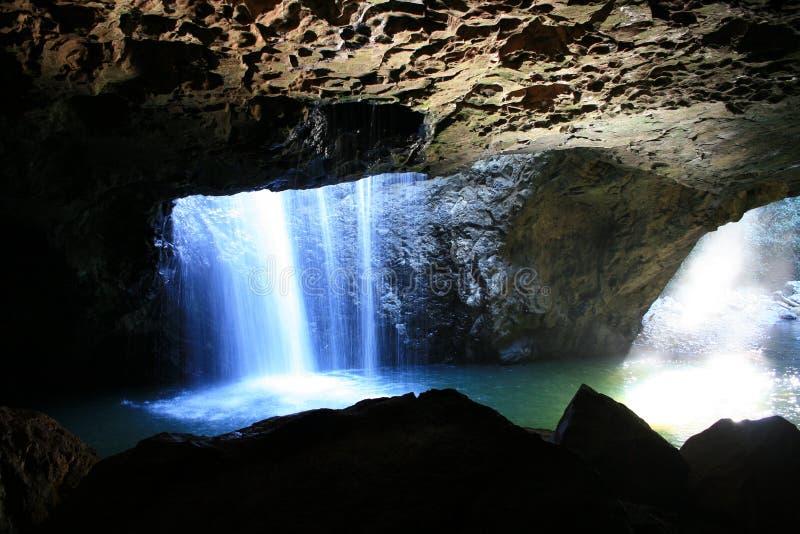 спрятанный grotto стоковые изображения