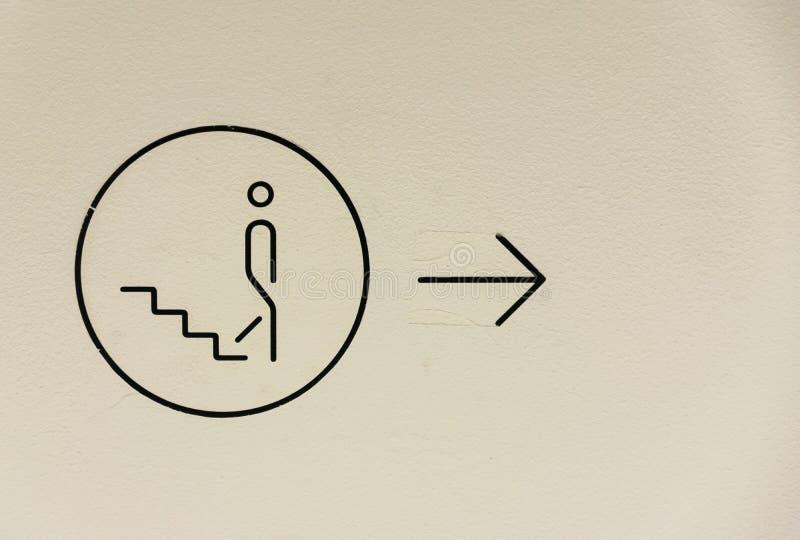 Спуск лестниц стоковое изображение rf