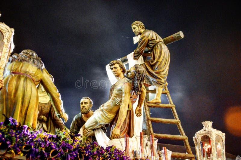 Спуск Иисуса Христа стоковые фото