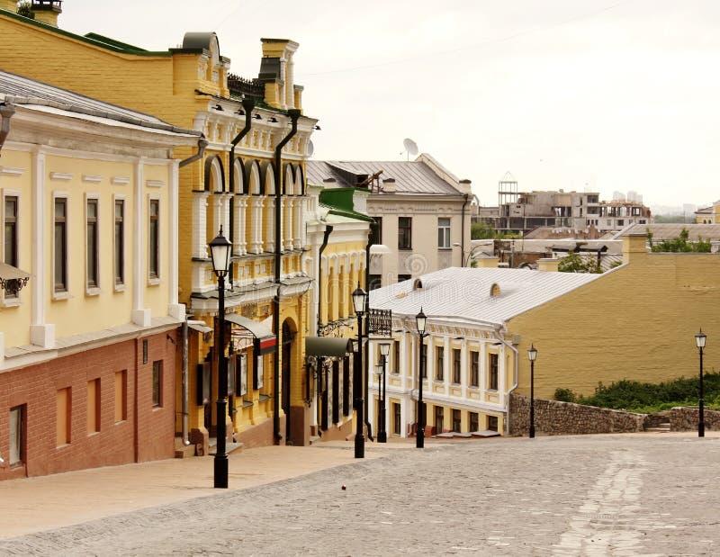 спуск kiev s Андрюа стоковое изображение rf