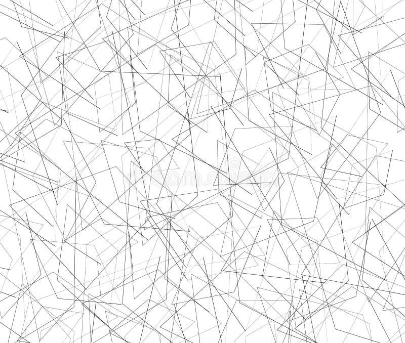 Download Спутанная текстура тонких линий Иллюстрация вектора - иллюстрации насчитывающей иллюстрация, monochrome: 81800781