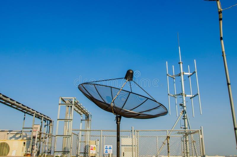 Спутниковая антенна диска стоковые фото