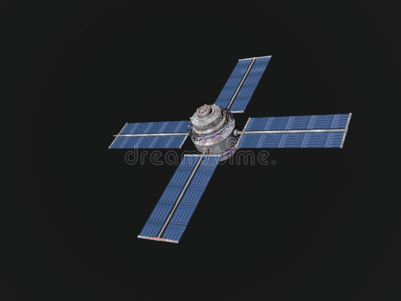 Download спутниковые радиосвязи иллюстрация штока. иллюстрации насчитывающей космос - 492046