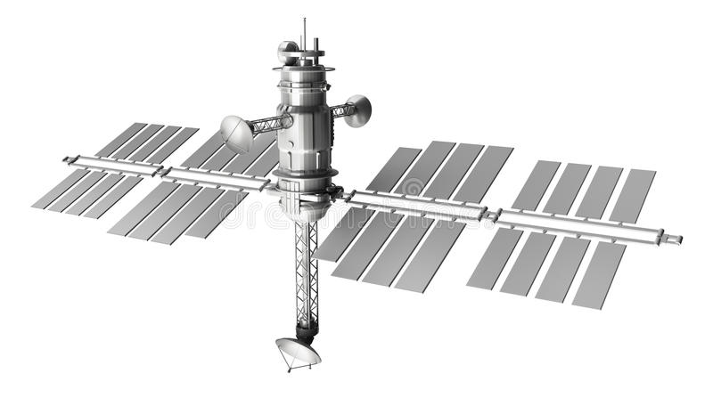 спутниковый космос бесплатная иллюстрация